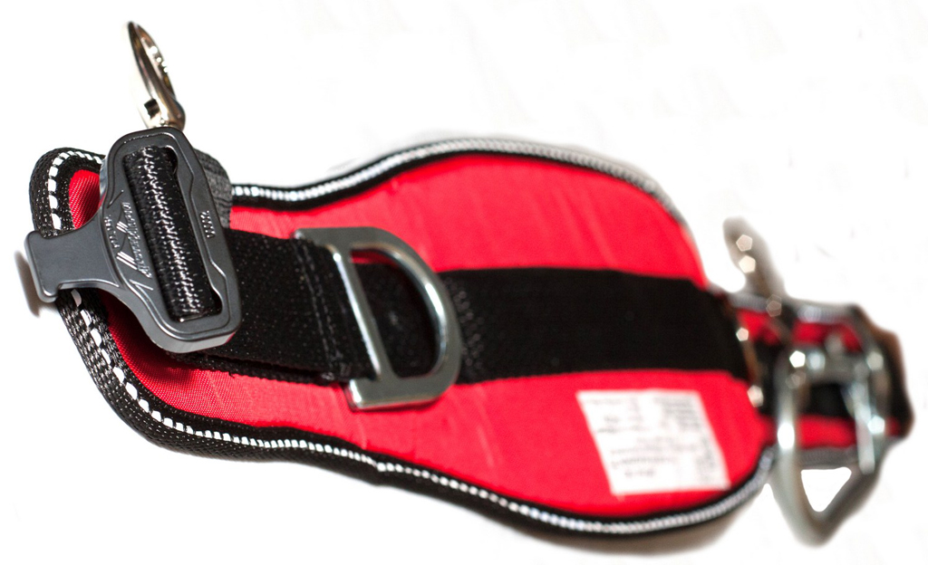 Firefighter climbing belt